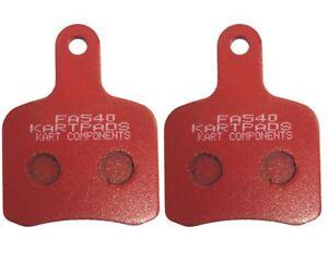 EBC Tony / OTK Pattern Brake Pads Red Hard FA540 Top Quality Rapid Post Go Kart