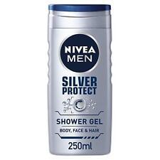 Nivea Men Gel Douche Argent, Protection, 250 ML