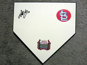 KOLTON WONG St. Louis Cardinals SIGNED Autographed Home Plate Base w/COA
