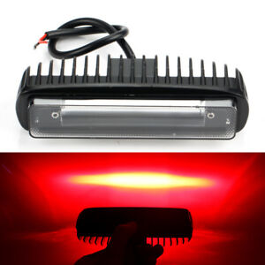 40W LED Work Light Bar Red Spot Beam Fog Driving Lamp Offroad Forklift Car Truck