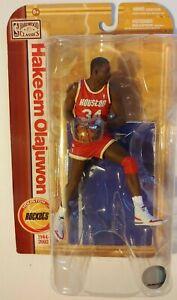 McFARLANE Hardwood Classics NBA HAKEEM OLAJUWON HOUSTON ROCKETS NEW IN PACKAGE
