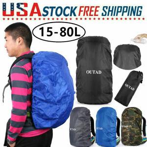 Outdoor Waterproof Backpack Rain Cover Bag Water Resistant (Small Medium Large)