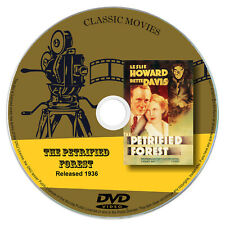 The Petrified Forest, Bette Davis, Leslie Howard, Humphrey Bogart Movie DVD 1936