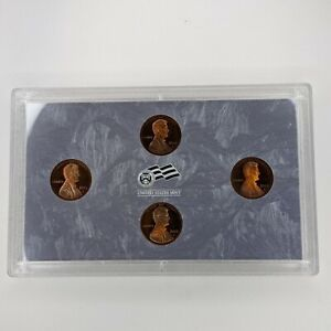 2009 - S US Mint Lincoln Bicentennial Proof 4 Coin Set No Box - 185514V