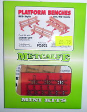 New Metcalfe platform Benches PO502 Suit Hornby