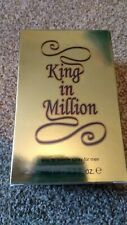 MENS GIFT BOX EAU DE TOILLETTE SPRAY KING IN A MILLION GOLD 100ML ONE AFTERSHAVE