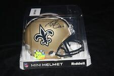 11b2118d630 New Orleans Saints Beckett Drew Brees Original Autographed Football ...