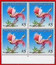 Papua New Guinea 1984 Bird of Paradise VF SC#603 blk of 4 MNH (E15)