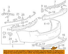 Chevrolet GM OEM 14-18 Impala Rear Bumper-Trim Bezel Left 20957961