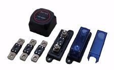 Dual Battery Isolator Dual Sense 100A MEGA Fuse Holder Combo Kit 4WD Caravan