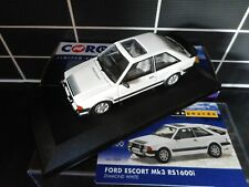 Vanguards Corgi VA11009 Ford Escort MK3 RS1600i Diamond White