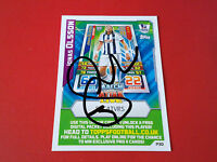 WBA. WEST BROM. WEST BROMWICH ALBION. HAND SIGNED TRADING CARD. JONAS OLSSON.