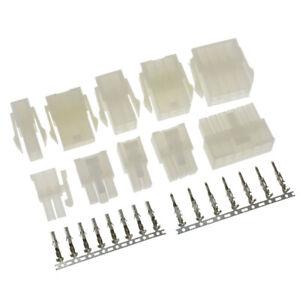 Molex 4.2mm Multi Plug Connector Sets 2 - 24 Pin Male + Female + Crimps Terminal