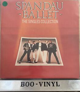 Spandau Ballet – The Singles Collection Vinyl LP Comp 33rpm – SBTV 1 EX / EX