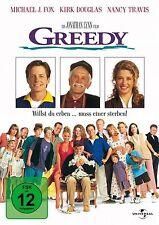 Greedy - Michael J. Fox - Kirk Douglas - DVD - OVP - NEU