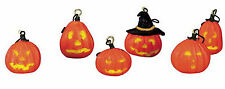 HALLOWEEN TREE DECORATION SET OF 6 #42843 SPOOKY TOWN COLLECTION