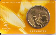 2000 $5 RAM UNC Coin Sydney Olympic coin collection- 14 of 28 (Badminton)+ cover