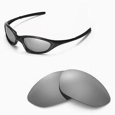 New Walleva Polarized Titanium Lenses For Oakley XX/Old Twenty