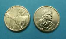 2014  P&D Mint  Sacagawea Native American Dollars  * Mint State BU Condition *