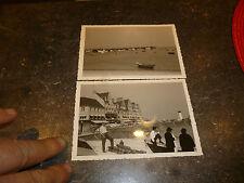 Ancienne Photo de Vacances +1960 Cancale