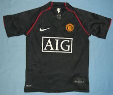 MANCHESTER United / 2007-2009 Away - NIKE - JUNIOR Shirt / Jersey. Age: 8-9 yrs