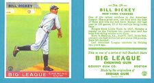 1933 Goudey Reprint #19 Bill Dickey Card - New York Yankees