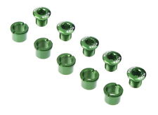 MOWA Road Cyclocross Mountain Bike Crank Chainring Bolts Nuts for Shimano Green