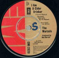 "The Wurzels – I Am A Cider Drinker Vinyl 7"" Single UK EMI 2520 1976"