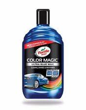 New Formula Turtle Wax Color Magic Shines Clean Restores Car Polish Scratches