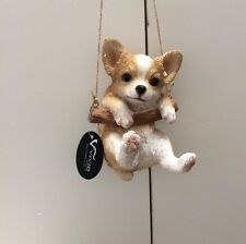 Rocking Chihuahua Vivid Arts Indoor and Outdoor Ornament