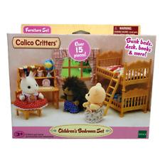 Calico Critters Children's Bedroom Set Bunk Beds Desk Furniture Accessories New