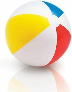 Beach Ball Foot Ball Diameter Ø 20 1/8in Ball Water Colourful Sorted Intex 59020