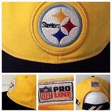 Vtg Pittsburgh Steelers Starter NFL Pro Line Hat Never Worn Man Cave Display