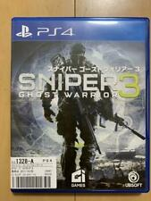 PS4 Sniper Ghost Warrior 3 04312 Japanese ver from Japan