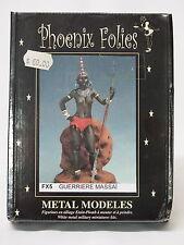 FX05 TRIBAL BODYGUARD, Phoenix Folies, 80mm Metal Miniature, Brand NEW