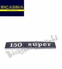 "2916 - TARGHETTA TELAIO POSTERIORE "" 150 SUPER "" VESPA 150 SUPER"