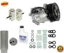 New A/C Compressor w drier, orings, exp valve, oil (fits:2000-98 Dodge Durango)