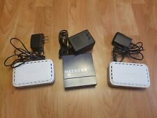 Lot of (3) 10/100 Switch w/ Ac Adapter