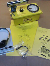 Rebuilt-Calibrated-Radiation Detector Lionel CDV-700 Geiger Count 6B -Life Warr