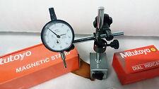 Prodotto IN Giappone Mitutoyo Base Magnetica + Comparatore Combo Confezione