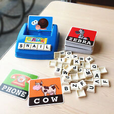 Children English Spelling Alphabet Game Early Learning Educational Toy Gift
