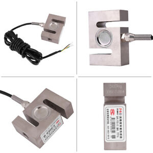 Durable S Type Beam Load Cell Scale Sensor Weighting Sensor 500kg With Cable