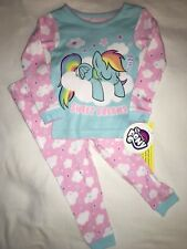 NEW NWT Girls Size 24 Months Sweet Dreams My Little Pony Pjs Pajamas Sleepwear