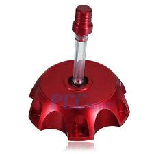 RED SDG110 90 107 110 125cc GAS CAP SSR70 PIT BIKE BILLET ALUM H GC02