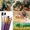 artiste aquarelle pen poils de nylon peinture à l'huile de broussailles pinceau