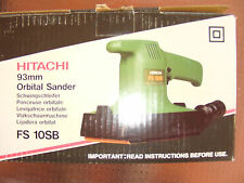 Hitachi FS10SB Orbital Sander 180W REDUCED TO CLEAR