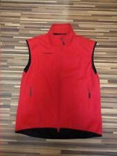 Men's Mammut Sport Outdoor Red Windstopper Softshell Vest RRP 111$