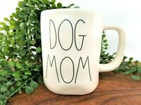 "RAE DUNN Artisan Collection LL ""DOG MOM"" Coffee Tea Mug By Magenta New"
