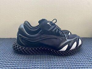 Size 9 - Adidas Y-3 Runner 4D Black 2020 - FU9207