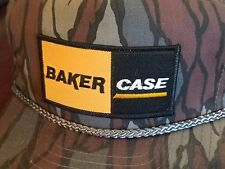 VINTAGE Baker Case Brothers Staunton Roanoke VA Camo Patch Snapback NISSIN NEW